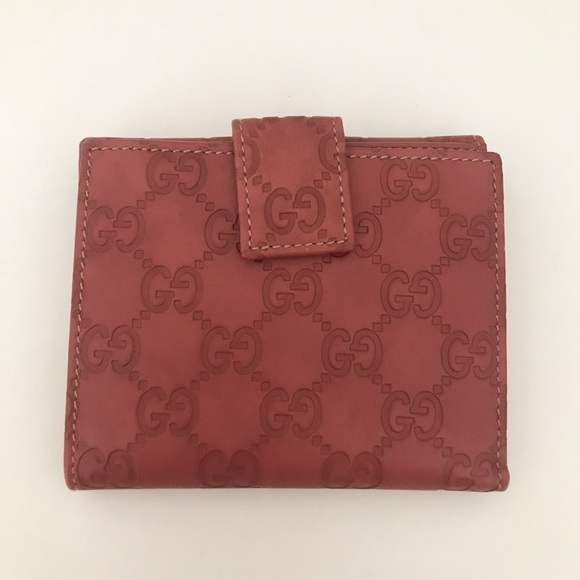 Gucci Handbags - Gucci Guccissima Leather Flap Fold Wallet